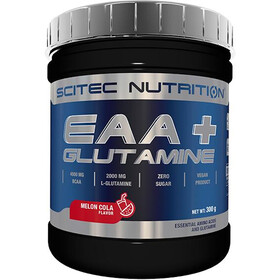 SCITEC EAA+Glutamine Powder 300g Melon-Cola